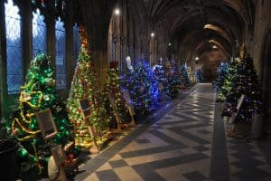 Cathedrals filled at Christmas time