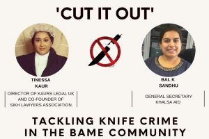 Barrister teams up with gang victim to cut out knife crime
