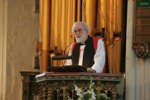 Archbishop's terrifying prospect of preaching in front of the Duke of Edinburgh