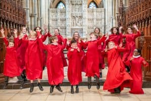 Choristers' Gee Seven song on climate change has global impact
