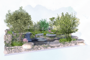 Psalm 23 garden at Chelsea Flower Show aims to restore souls