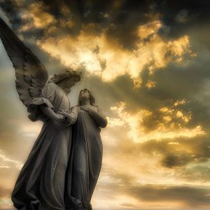 Angels to watch over us: one in three believe they have a celestial guardian